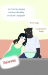 9x9 black_panther blue_eyes clothing dress duo feline female food human leopard male mammal melanism panther popcorn romantic_couple sitting sofa television yellow_eyesRating: SafeScore: 1User: 9X9Date: October 18, 2016
