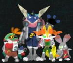 amphibian braixen bunnelby canine crossover falco_lombardi fox fox_mccloud frog greninja group hawlucha lagomorph mammal nintendo peppy_hare pokémon rabbit semi-anthro slippy_toad star_fox video_games  Rating: Safe Score: 3 User: Rad_Dudesman Date: April 24, 2016