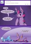 2015 bdsm bondage bound deusexequus english_text equine female feral friendship_is_magic horn mammal my_little_pony text trixie_(mlp) twilight_sparkle_(mlp) unicorn winged_unicorn wings   Rating: Questionable  Score: 5  User: Robinebra  Date: April 14, 2015