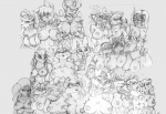 alien amaterasu antennae anthro anthrofied avian azh big_breasts bipedal blaziken breasts bucky_o'hare burmecian canine carmelita_fox cat crossover darkstalkers deity digimon dog felicia_(darkstalkers) feline female female/female final_fantasy final_fantasy_ix fox freya_crescent front_view fur group half-length_portrait ink-eyes jenny jetta kirara krystal lagomorph looking_at_viewer lopunny lucario magic_the_gathering mammal monochrome moogle multi_breast navel nekomata nintendo nipples nude patches pencil_(artwork) pokémon pokémorph queenie rabbit rat renamon rodent skunk sly_cooper_(series) standing star_fox traditional_media_(artwork) tyranid video_games yawg Ōkami   Rating: Questionable  Score: 9  User: MDB  Date: May 05, 2010