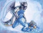 2016 all_fours anthro avian beak bird blue_feathers butt cum cum_on_butt doggystyle dripping drooling duo eyes_closed feathered_wings feathers female from_behind_position gryphon headphones male male/female nude pussy_juice ruaidri saliva sex tail_feathers talons wings  Rating: Explicit Score: 4 User: Knotty_Curls Date: May 03, 2016