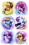 2016 apple apple_bloom_(mlp) equine feathers female fluttershy_(mlp) food friendship_is_magic fruit glowing hi_res horn horse loose_feather magic mammal my_little_pony pegasus pinkie_pie_(mlp) pony quill rainbow_dash_(mlp) rarity_(mlp) sparkles tsitra360 twilight_sparkle_(mlp) unicorn wings  Rating: Safe Score: 9 User: 2DUK Date: April 19, 2016