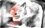 16:10 ambiguous_gender blood canine dark feral fog mammal ruger181 solo teeth wolf