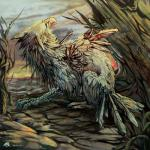 2011 ambiguous_gender arrow avian beak day detailed_background feathers feral hybrid outside tail_feathers talons tatchit woundedRating: SafeScore: 3User: MillcoreDate: August 14, 2017