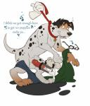 canine collar condom cum cumshot dalmatian dizfoley dog eyewear glasses human knot kuma leash mammal orgasm transformation  Rating: Explicit Score: 6 User: Indycoone Date: August 26, 2015