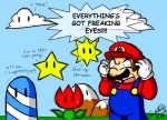 2012 angry clothing cloud english_text flower hat hill hills male mario mario_bros nintendo sky starman text the_hills_have_eyes video_games   Rating: Safe  Score: 8  User: David_Paw_2013  Date: November 11, 2012