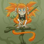 anthro ape feet fur hair kailee_(character) mammal monkey nude primate scottyartz_(artist) solo  Rating: Questionable Score: 2 User: Autumn~PrimateSky Date: January 23, 2016