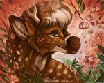 2016 ambiguous_gender antlers arthropod black_lips blue_body brown_fur cervine day deer detailed detailed_background dragon dragonfly duo eyelashes feral flashw flower flower_in_hair fur grass hair half-length_portrait horn hybrid inner_ear_fluff insect long_mouth looking_up mammal mane_hair mist nature outside plant portrait short_hair size_difference smile snout solo_focus spikes spots spotted_fur spring spring_(spixwusky) tan_fur translucent translucent_wings whiskers white_fur white_hair white_spots wingsRating: SafeScore: 10User: MillcoreDate: September 09, 2016