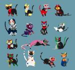 2013 :3 agito ambiguous_gender blade blue_background cat costly cute decade den-o faiz_(kamen_rider) feces feline feral fourze fur gaim_(kamen_rider) group happy hi_res hibiki japanese kabuto kamen_rider kamen_rider_kabuto_(series) kamen_rider_ryuki kiba kotatsu_oranges kuuga looking_at_viewer looking_back lying magic_user mammal metal-renamon nintendo ooo_(kamen_rider) pokémon pokémon_(species) ryuki simple_background video_games wag white_fur wizard_(kamen_rider)Rating: SafeScore: 7User: SwiperTheFoxDate: February 18, 2017
