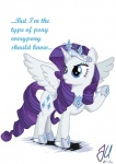 2013 cutie_mark english_text equine eyeshadow female feral friendship_is_magic fur hair horn makeup mammal my_little_pony rarity_(mlp) solo teammagix text white_fur winged_unicorn wings  Rating: Safe Score: 9 User: darknessRising Date: April 20, 2013