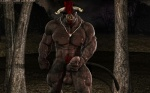 3d abs anthro balls biceps big_balls big_muscles big_penis bovine cattle cgi cum cum_on_penis darkviper199027 digital_media_(artwork) dripping erection fur hair horn humanoid_penis kaiger leaking looking_at_viewer male mammal masturbation muscles necklace nipples nude pecs penis pose precum red_hair solo vein  Rating: Explicit Score: 20 User: furmann Date: July 11, 2013""