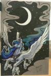 2016 begasuslu blue_eyes blue_feathers blue_fur blue_hair crown equine feathered_wings feathers female feral flying friendship_is_magic fur hair horn jewelry magic mammal moon my_little_pony necklace night princess_luna_(mlp) smile solo spread_wings star winged_unicorn wings  Rating: Safe Score: 6 User: ConsciousDonkey Date: March 12, 2016