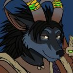 2015 anthro armor black_hair black_nose blue_fur canine female fur green_eyes hair horn horn_ring looking_at_viewer mammal paralee_(character) pointy_ears ratte reaction_image simple_background solo video_games warcraft were werewolf worgen  Rating: Safe Score: 3 User: NotMeNotYou Date: July 14, 2015