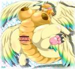 abstract_background animal_genitalia anthro anthrofied anus big_breasts blush breasts censored chubby claws cloaca digitigrade dragon female flammie fur furred_dragon gaping gaping_pussy hair horizontal_slit huge_breasts mana_(series) multiple_wings open_mouth orange_hair pawpads pussy pussy_juice scalie secret_of_mana simple_background solo teal_eyes video_games wide_hips wings ymbk  Rating: Explicit Score: 10 User: chdgs Date: July 20, 2015