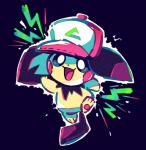 3_toes ambiguous_gender biped clothing crayonchewer hat headgear headwear hi_res nintendo open_mouth pichu pokémon pokémon_(species) smile solo toes tongue video_gamesRating: SafeScore: 1User: 079192649Date: August 17, 2019