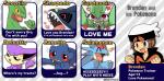 <3 abstract_background banette banoakira blush brendan brown_hair clothed clothing delcatty english_text gardevoir group hair headwear human male mammal nintendo open_mouth pokémon salamence sceptile sharpedo shiny_pokémon signature text video_games  Rating: Safe Score: 10 User: Rad_Dudesman Date: February 04, 2016