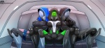 2013 alien big_breasts breast_grab breasts camel_toe clothing female humanoid mask mass_effect quarian sitting teqa tight_clothing video_games   Rating: Questionable  Score: 8  User: Robinebra  Date: November 03, 2013
