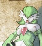 2014 anthro breasts eyes_closed female gardevoir hair hand_on_head hattonslayden human interspecies mammal nintendo nipples nude open_mouth pokémon poképhilia tongue vaginal video_games   Rating: Explicit  Score: 10  User: forkU  Date: April 22, 2014