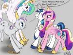 2015 blue_hair cutie_mark dialogue english_text equine excited female feral friendship_is_magic fur group hair happy horn horse jumping long_hair male mammal multicolored_hair my_little_pony open_mouth plain_background pony princess_cadance_(mlp) princess_celestia_(mlp) shining_armor_(mlp) silfoe smile text tongue twilight_velvet_(mlp) two_tone_hair unicorn winged_unicorn wings   Rating: Safe  Score: 11  User: Robinebra  Date: February 12, 2015