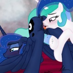 anus blue_fur blue_hair blush clitoral_winking clitoris crying cunnilingus cutie_mark duo equine feathers female female/female feral friendship_is_magic fur hair hooves horn ihavnoname incest licking long_hair mammal multicolored_hair my_little_pony open_mouth oral pink_eyes princess_celestia_(mlp) princess_luna_(mlp) pussy pussy_juice sex teal_eyes tears tongue tongue_out unicorn vaginal wet_pussy white_fur winged_unicorn wings   Rating: Explicit  Score: 25  User: OptimalPrime  Date: June 12, 2014