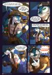 anthro breasts canine comic conditional_dnp dialogue english_text eyewear female fish goggles hyena jasper_(scappo) kaila_(scappo) male mammal marine scappo shark suspenders text  Rating: Safe Score: 11 User: skulblakka Date: September 06, 2015