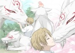 canine duo feral fox gay head_nom interspecies kissing madara male mammal natsume natsume_yuujinchou nom nyanko nyanko_sensei sensei size_difference wolf yuujinchou   Rating: Safe  Score: 0  User: matt4  Date: April 04, 2010