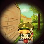 cute equine female fillyscout ginger_snap girl_scout horse lumineko mammal my_little_pony peephole pony  Rating: Safe Score: 3 User: lumineko Date: August 04, 2015