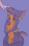 ambiguous_gender anthro blush burquina covering disembodied_hand duo fish frills frown gills girly human looking_away mammal marine nude orange_eyes petting shark shy slit_pupils solo_focus standing thigh_gap vibrant   Rating: Questionable  Score: 92  User: ktkr  Date: March 25, 2013