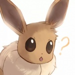 ambiguous_gender aruberutoo canine eevee feral fox mammal nintendo pokémon solo video_games