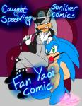 anthro ball_gag bdsm bondage bound comic english_text gag hedgehog hi_res male male/male mammal redfirestar silver_the_hedgehog sonic_(series) sonic_(sonic) text  Rating: Explicit Score: 2 User: The_Gazi_Pack Date: May 02, 2015
