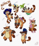 3_toes 4_fingers alternate_species anthro big_teeth black_eyes black_hair blonde_hair blue_eyes blue_hair bracelet brown_fur cyan_hair dipstick_tail eyewear fur glasses green_hair hair hair_bow hair_ribbon iggy_koopa jewelry koopa koopaling larry_koopa lemmy_koopa ludwig_von_koopa mammal mario_bros mohawk morton_koopa_jr. multicolored_tail nintendo pink_hair raccoon ribbons roy_koopa scalie shell simple_background spike_(disambiguation) spiked_bracelet sunglasses tan_fur tanooki tanuki toes video_games wendy_o_koopa white_background zetsho  Rating: Safe Score: 6 User: charmandrigo Date: February 14, 2016