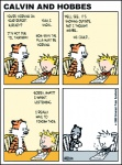 bill_watterson black_stripes blonde_hair calvin calvin_and_hobbes colored comic depressing feline hair hobbes human male orange_fur sad stripes the_end tiger toy   Rating: Safe  Score: 7  User: Sods  Date: May 27, 2011