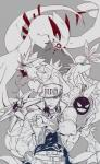 cigarette cloyster crossover group gyarados human jojo's_bizarre_adventure jotaro_kujo lugia milotic nintendo pokéball pokémon pokémon_trainer smoking starmie video_games 수현   Rating: Safe  Score: 0  User: ROTHY  Date: February 10, 2014