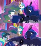 2015 duo equine female feral friendship_is_magic horn mammal my_little_pony princess_celestia_(mlp) princess_luna_(mlp) sibling sisters vilina winged_unicorn wings  Rating: Safe Score: 24 User: Robinebra Date: September 06, 2015