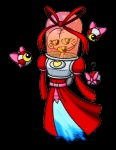 ? ambiguous_gender awesomenauts bow brain crossgender female flying red_dress ribbons spacesuit unknown_artist video_games voltar yellow_sclera   Rating: Safe  Score: 2  User: Rexic  Date: June 28, 2013