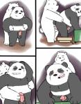 alternate_version_available anal anal_penetration balls bear comic duo graft_(artist) ice_bear male male/male mammal monochrome panda panda_(character) penetration penis polar_bear we_bare_bears  Rating: Explicit Score: 9 User: Pokelova Date: November 06, 2015