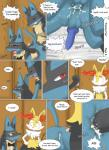akiru_cario anal anal_penetration animal_genitalia balls braixen canine_penis comic cum cum_while_penetrated hands-free herm humanoid_penis incest intersex intersex/male knot lucario male maleherm nintendo orgasm penetration penis pokémon pussy video_games winick-lim  Rating: Explicit Score: 5 User: Shadowkingdom465 Date: June 15, 2015""