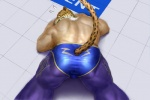 back biceps big_muscles bulge butt clothed clothing feline for_a_head half-dressed human hybrid jaguar king_(tekken) looking_back lying male mammal mask muscles open_mouth pants royalty solo spots surprise tekken topless video_games wrestler wrestling_clothes zib-n_(pixiv)  Rating: Questionable Score: 7 User: jaguaryou Date: January 27, 2014