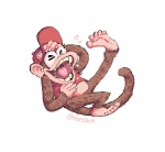 5_toes barefoot brown_fur clothing diddy_kong donkey_kong_(series) forosha fur hat laugh lying male mammal monkey nintendo on_back open_mouth plain_background primate signature solo teeth toes tongue video_games   Rating: Safe  Score: 0  User: Cαnε751  Date: April 10, 2015