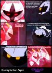 armor bound cape clothing comic crystal dark_meta_knight duo english_text fangs feathered_wings feathers galacta_knight glowing glowing_eyes horn kirby kirby_(series) mask nintendo not_furry pink_skin red_eyes smirk squint text torn_clothing vibrantechoes video_games wings yellow_eyes  Rating: Safe Score: 1 User: VibrantEchoes Date: September 30, 2015