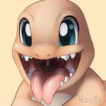 ambiguous_gender blue_eyes charmander cute feral lizard mouth_shot nintendo nummynumz open_mouth pokémon reptile scalie solo teeth tongue tongue_out video_games  Rating: Questionable Score: 6 User: DeltaFlame Date: April 17, 2015