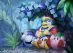 2012 alien armor avian bird digital_media_(artwork) feral forest group king_dedede kirby kirby_(series) male mask meta_knight nintendo raining re_k sitting tree video_games waddle_dee waddling_head wet  Rating: Safe Score: 1 User: Cαnε751 Date: December 16, 2015