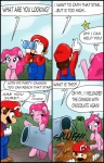 2013 ambiguous_gender blue_eyes bush cannon chocolate ciriliko clothing comic creeper equine facial_hair female feral friendship_is_magic gloves hat horse male mammal mario mario_bros minecraft mustache my_little_pony nintendo outside overalls pinkie_pie_(mlp) pony star video_games   Rating: Safe  Score: 7  User: 2DUK  Date: February 11, 2013