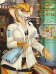 "anthro breasts english_text eyewear female glasses lab_coat merrunz naga penis reptile scalie snake text video_games viper_(x-com) x-com  Rating: Explicit Score: 59 User: Yuiop2 Date: June 27, 2015"""