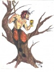 abs alcohol alinraven beverage biceps caprine crook food goat hair hooves horn hybrid male mammal marker_(artwork) muscles mythological nipples nude pecs pointy_ears satyr shepherd simple_background solo traditional_media_(artwork) tree weapon wine wood  Rating: Safe Score: 2 User: Younggrizzly Date: October 25, 2012