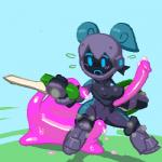 blush breasts female goo helmet jelly_cube noill not_furry pussy slime spiral_knights sword tentacles vaginal weapon   Rating: Explicit  Score: 1  User: Juni221  Date: October 24, 2014