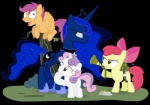 2015 alpha_channel apple_bloom_(mlp) dm29 earth_pony equine female feral friendship_is_magic group horn horse mammal my_little_pony pegasus pony princess_luna_(mlp) scootaloo_(mlp) sweetie_belle_(mlp) unicorn winged_unicorn wings   Rating: Safe  Score: 4  User: Robinebra  Date: April 18, 2015