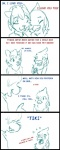 anthro avian blush breasts clothing comic cute dialogue feline female female/female fur humor mammal occidentalis sara_(occidentalis) tiki_(occidentalis)   Rating: Safe  Score: 8  User: Occidentalis  Date: January 21, 2015