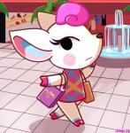 animal_crossing cervine clothed clothing deer diana_(animal_crossing) female mammal nintendo solo unknown_artist video_games  Rating: Safe Score: 8 User: JGG3 Date: June 27, 2015""