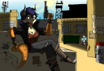 borderlands canine carmelita_fox crossover female fox gun gunzerker heroesheaven human psycho ranged_weapon sly_cooper_(series) video_games weapon   Rating: Safe  Score: 2  User: PicMaster  Date: May 17, 2013